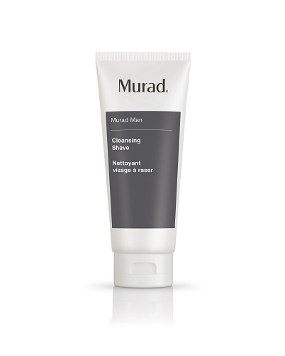 Man cleansing shave murad