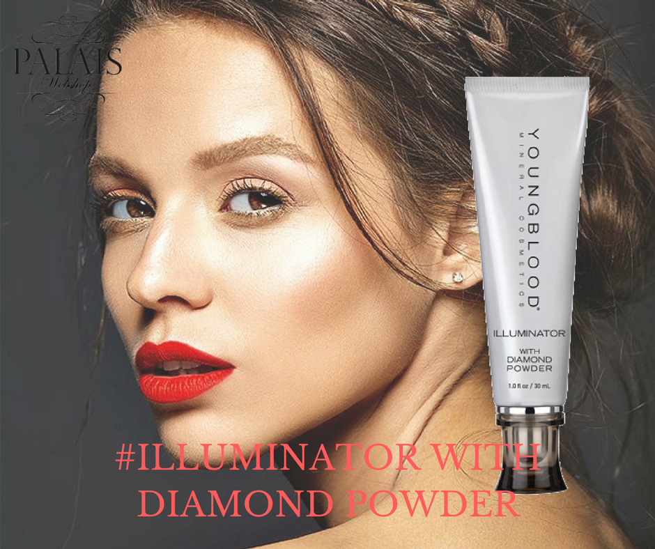 Illuminator with Diamond Powder