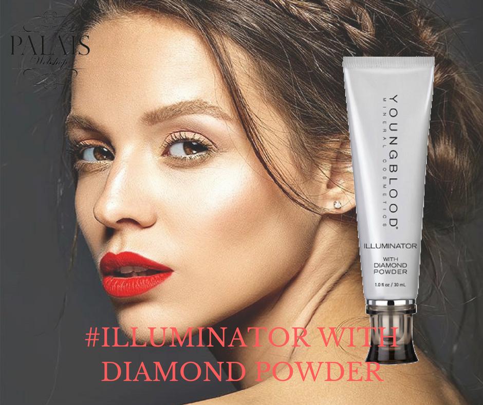 Illuminator with Diamond Powder